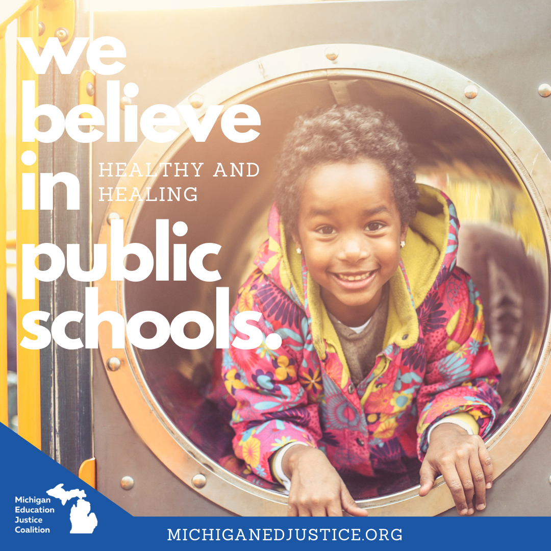 We Believe in healthy and healing Public Schools